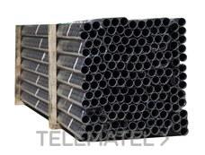 TUPERSA 065200020 Tubo rígido PVC TUPERPLAS enchufable gris 20