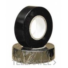 UNECOL 8437 COLLAK CINTA ADHESIVA 20m.19mm. NEGRA   09004