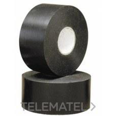 UNECOL 8425 COLLAK CINTA ADHESIVA 33m.50mm.NEGRA   09033